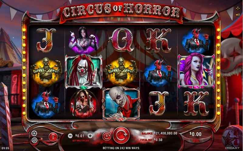 GameArt lädt in den Circus of Horror